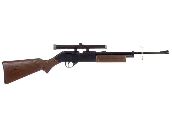 Manufacturer: Crossman Model: 760 Pumpmaster Gauge/Cal: .177 Type: Air Rifle Serial #: 394101680