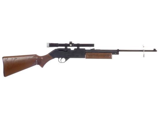 Manufacturer: Crossman Model: 760 Pumpmaster Gauge/Cal: .177 Type: Air Rifle Serial #: 588226261