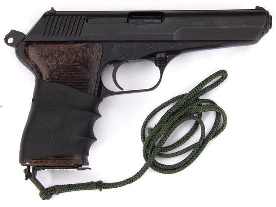 Manufacturer: CZ Model: 52 Gauge/Cal: 7.62x25 mm Tokarev Type: Pistol Auto Serial #: LB 6446 Misc: