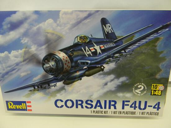 Revell Corsair F4U-4 model kit 85-5248 1:48 scale