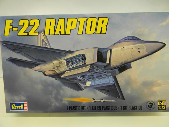 Revell F-22 Raptor 85-5984 1:72 scale