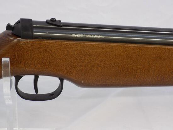 Manufacturer: Ruger Model: Air Hawk Gauge/Cal: .177 Type: Air Rifle Serial: 000142079 Misc: Wooden