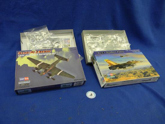 Hobby Boss Soviet PE-2 Bomber model kit 80296 1:72 scale Hobby Boss F-16B Fighting Falcon model kit