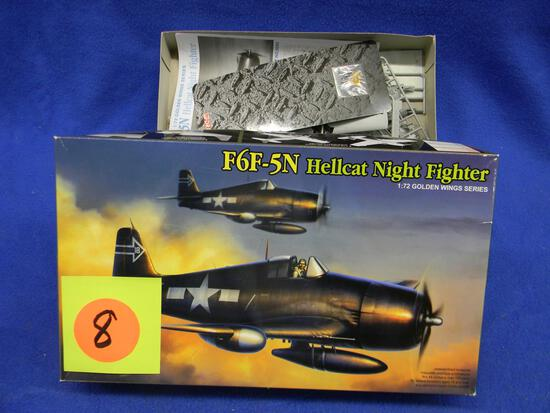 Dragon F6F-5N Hellcat Night Fighter model kit 5080 1:72 scale