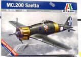 .200 Saetta model airplane No 2676 1:48