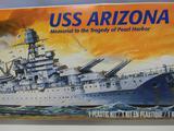 Revell USS Arizona Pacific Fleet 85-0302 model kit 1:426 scale