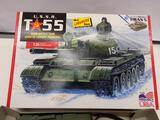 The Lindberg Line U.S.S.R. T-55 Main Battle Tank 1:35 scale