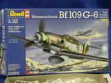 Revell Messerschmitt Bf109 G-6 04665 model kit 1:32 scale