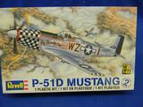 Revell P-51D Mustang 85-5241 model kit 1:48 scale