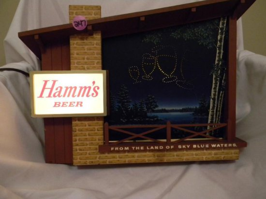 Starry Skies Hamm's Beer Sign