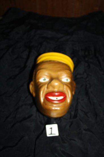 Black Americana Head Vase