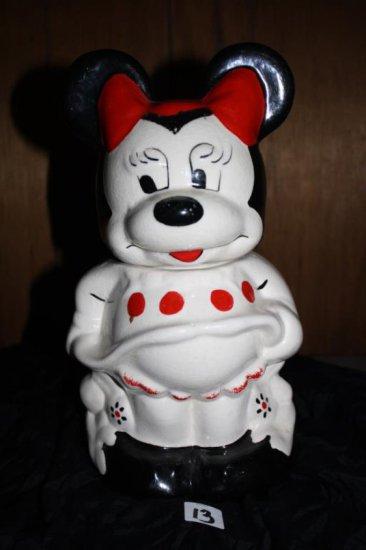 Mickey/Minnie Cookie Jar