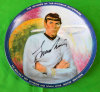 Leonard Nimoy Autographed Collectors Plate