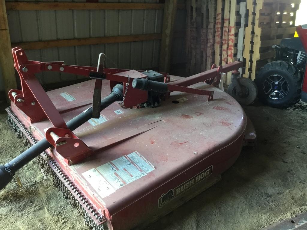 Lot: Bush Hog BH26 3PT  Mower | Proxibid Auctions