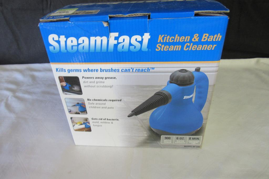 Lot Steamfast Kitchen And Bath Steam Cleaner Proxibid Auctions