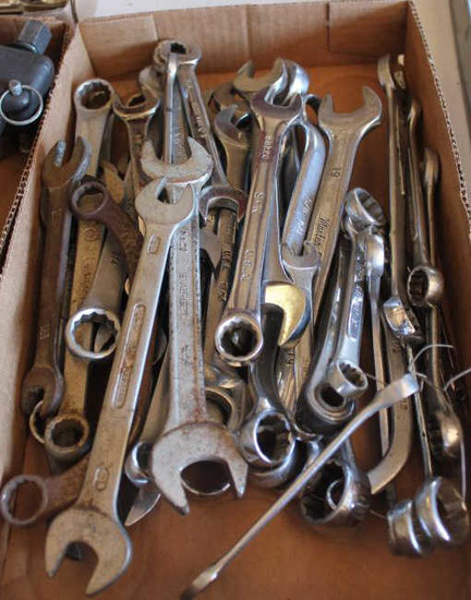Box of Asst Wrenches