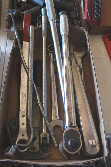 Large HD Socket Wrenches & Tools