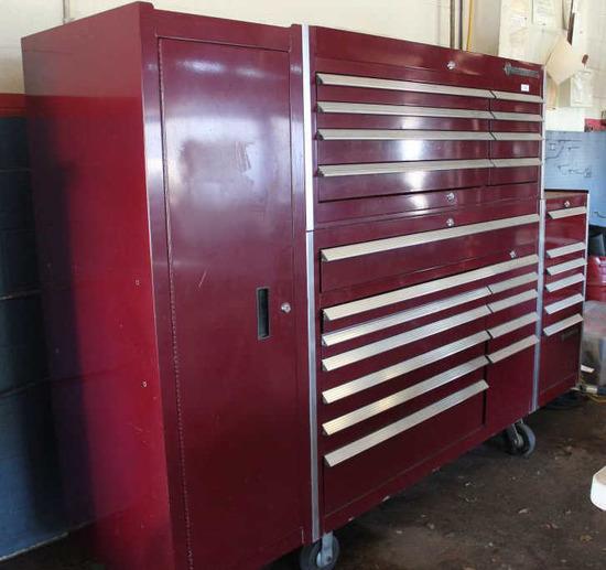Cornwell Maroon Tool Cabinet