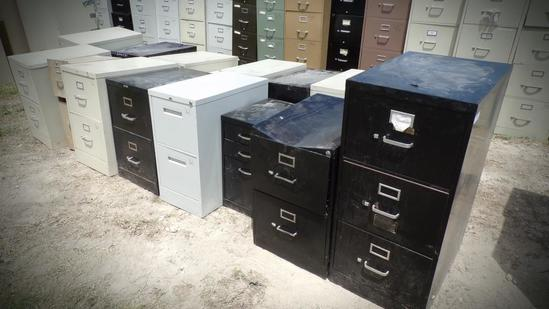 (18) Misc File Cabinets