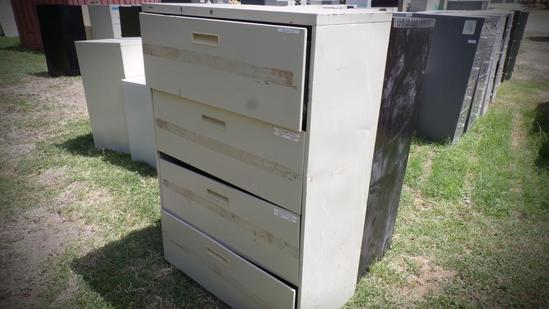 (2) Misc File Cabinets