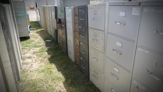(22) Misc. File Cabinets