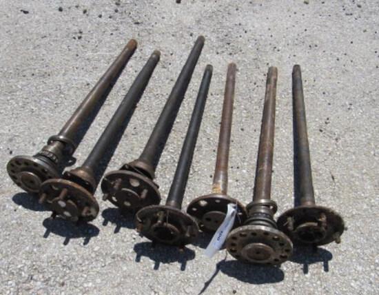 (7) 5-Lug Axles