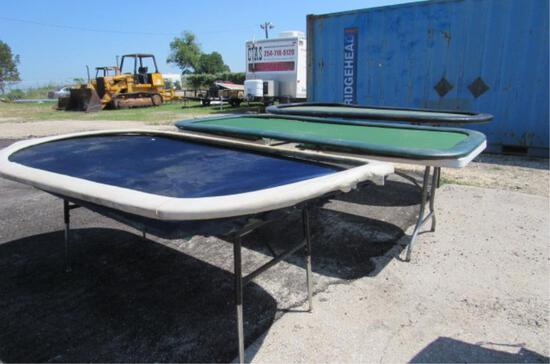 (3) Home Built Gaming Tables