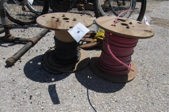 (2) Spools Wire