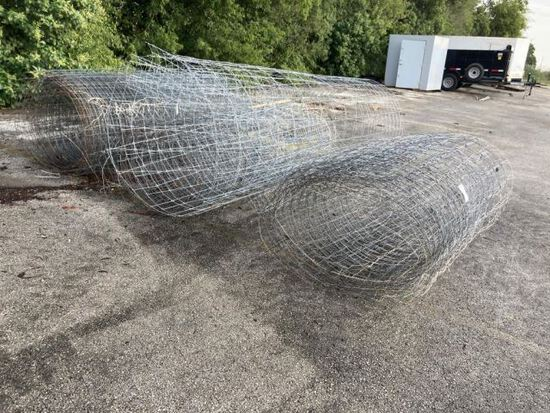 3 Rolls of High Fence Wire