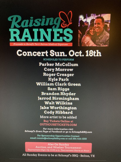 """""""Raising for Raines"""" Online Only Benefit Auction"""