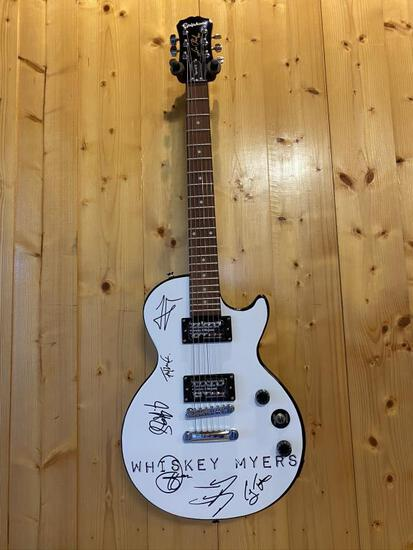 Autographed Whiskey Myers Guitar