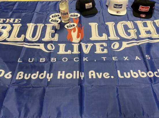 Blue Light Live Flag