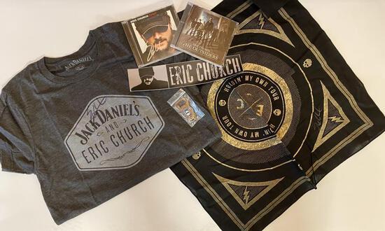Eric Church/Jack Daniels Merchandise Pack