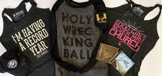 Eric Church Lady's Merchandise Pack