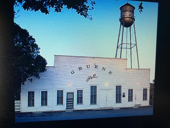 Night on the Town in Gruene, Texas