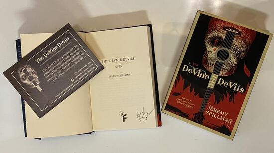 Autographed Copy of The DeVine DeVils