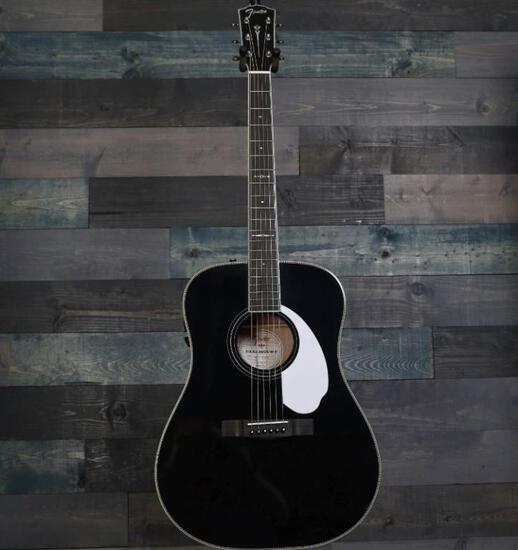 Fender FPM-77-D Acoustic Guitar with Case