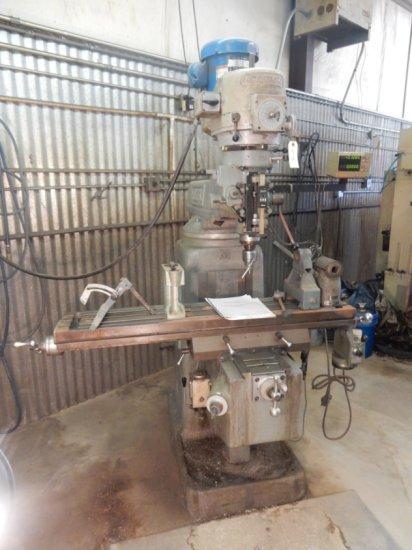 Seiki-XL Turret Milling Machine W/Bridgeport Head Mod# 2V4  W/ 50'' x 10''E