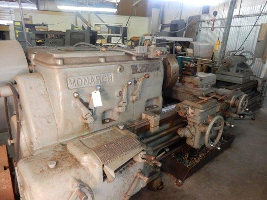 Monarch Metal Lathe (Mod: NN) Manufacturers #: 30 522-K *(34Gap Lewis tool