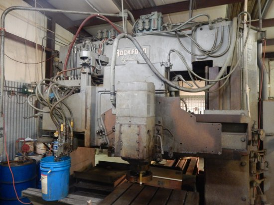 Rockford Hydraulic Welling Co  Profiling Milling Machine w/Electrical Schem