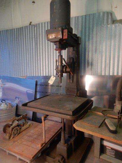 """Leland-Cifford Drill Press W/ Adjust. Table (94""""x33""""x41"""")"""