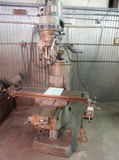 Bridgeport Series 1 Milling Machine Mod: M-105H W/Seiki-XL Head & Bridgepor