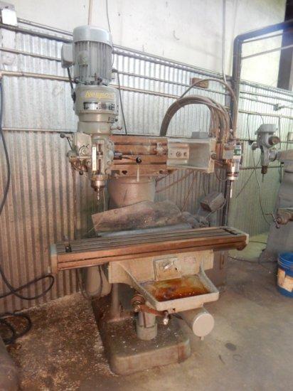 Bridgeport Textron Milling(Profiler) Machine W/ NewPort Head S/N:  791184,