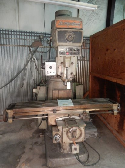 "Bridgeport Series 2 Milling Machine Mod: A020157 S/N:  470 (Table Size 66""x"