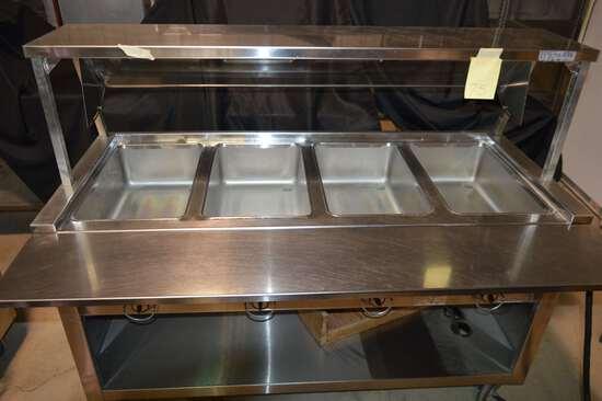Duke Hot Steam Table