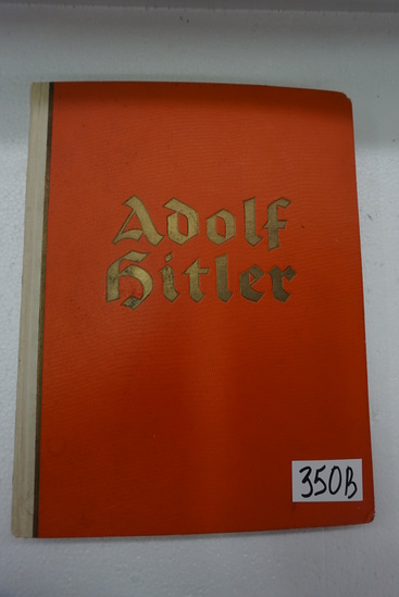 "1936 Adolf Hitler Photo Album Book, 12.5""x9.5"" many photos. Incredible Find!"