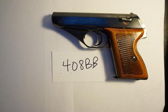 Estate Item: Used HSC Mauser .380ACP, Made in Germany, Excellent. 7 Shot Pistol, Estate Find