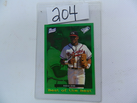 1995 Best Baseball Card Andru Auctions Online Proxibid