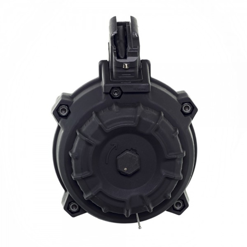 PROMAG DRM-A9 - AK-47 7.62x39MM (50) RD Drum Black Polymer, $111.49