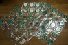 Fifty-Two (52) 1971 Topps Metal Baseball Coins  Loaded with Stars incl some duplicates: